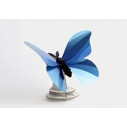 Papillon DIY Giant Silk - bleu azur