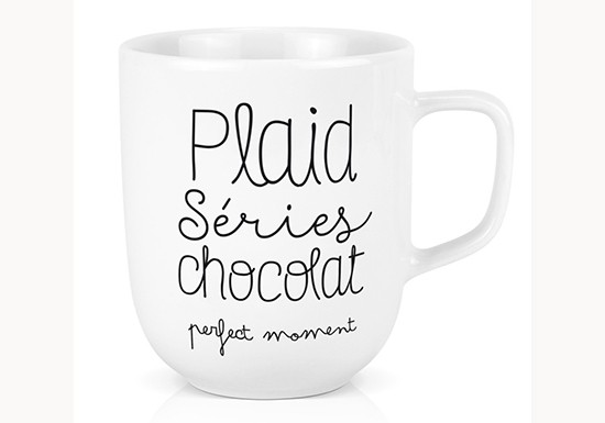 Mug XL - Plaids Séries Chocolat