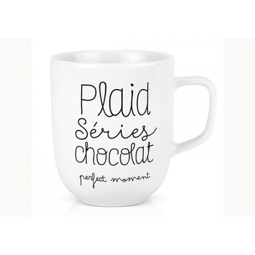 Mug XL - Plaid Séries Chocolat