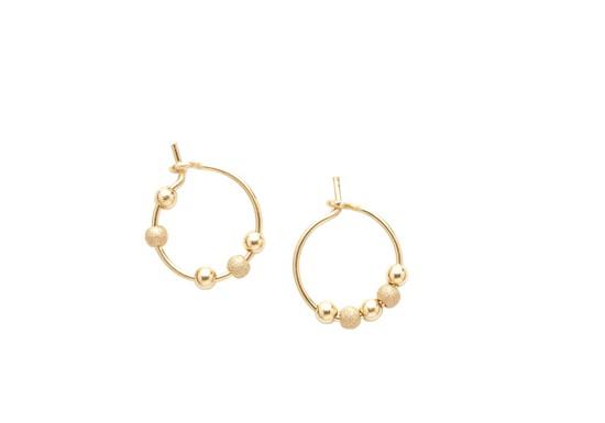 Mini anneaux Fruits d'or - doré