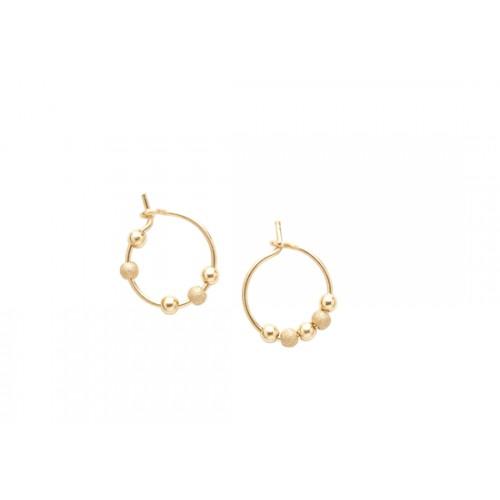 Mini anneaux Fruits d'or - or