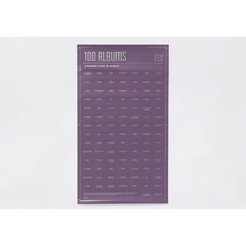 Poster 100 albums à écouter avant de mourir