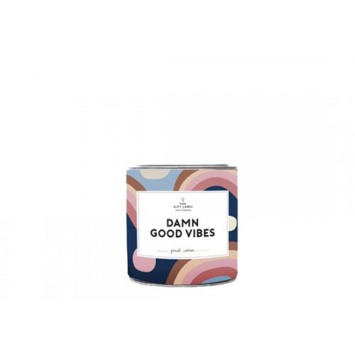 Petite bougie parfum jasmin vanille - Damn good vibes