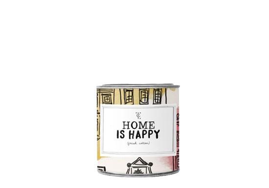 Petite bougie parfum feux de cheminée - Home is happy