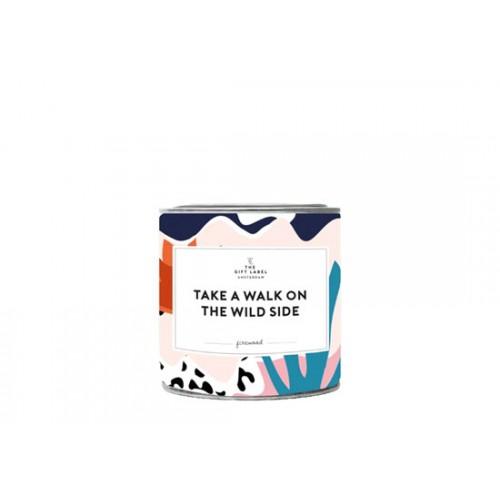 Grande bougie parfum jasmin vanille - Wild side