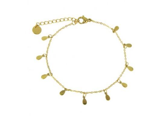Bracelet chaîne gouttes Rachel
