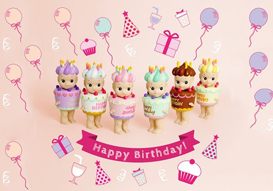 Sonny Angel Série happy Birthday