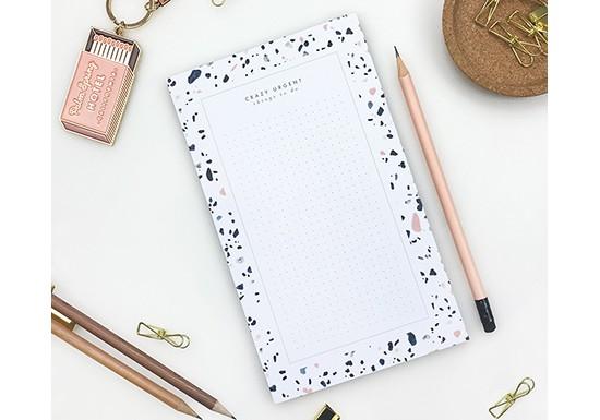 Notepad XL - Terrazzo