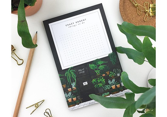 Notepad - Plant shop