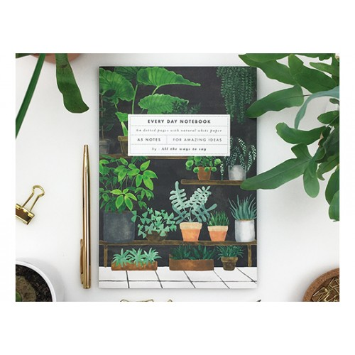 Cahier A5 - Plant shop