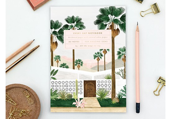 Cahier A5 - Palm Spring