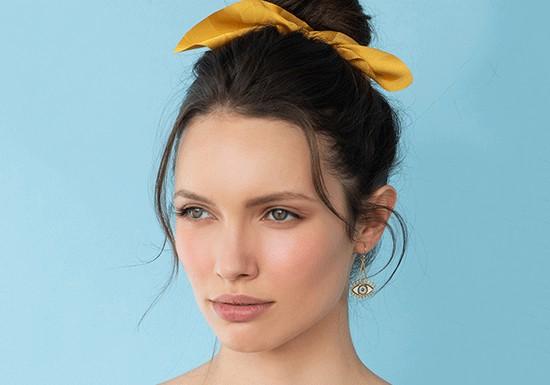 Boucles d'oreilles Oracle (coloris au choix)
