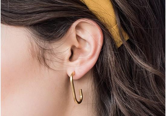 Boucles d'oreilles Omega