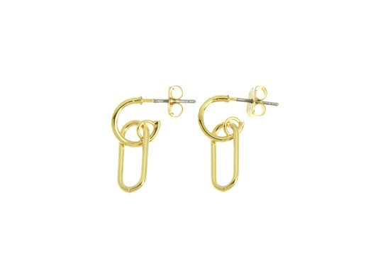 Boucles d'oreilles Rosanna trombone Mini