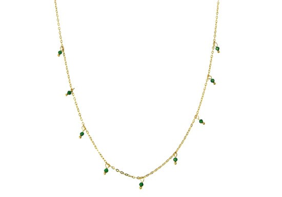 Collier Lina - vert