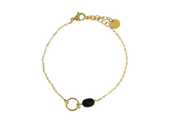 Bracelet Agathe - onyx