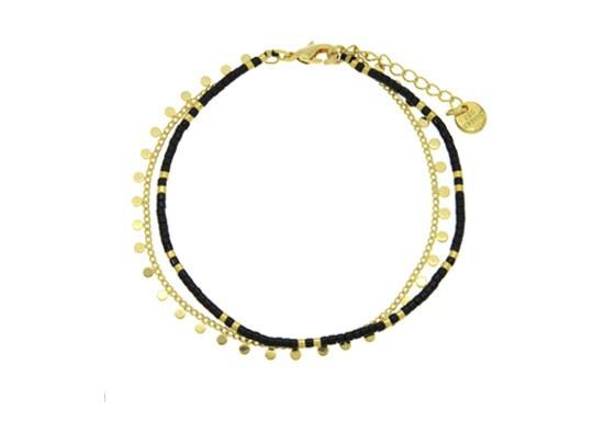 Bracelet Ariane - noir