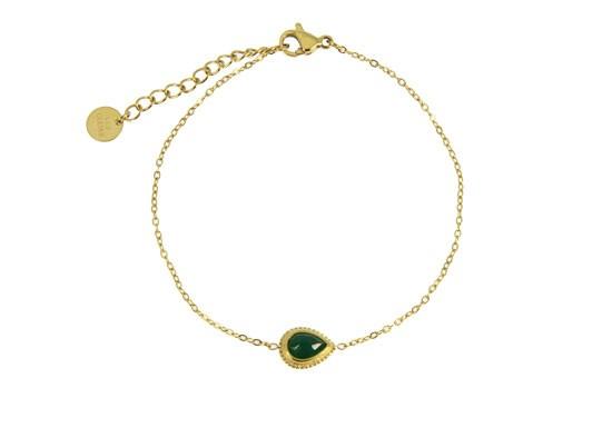 Bracelet Chloé - malachite