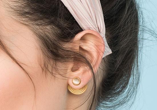 Boucles d'oreilles Amphi jacket