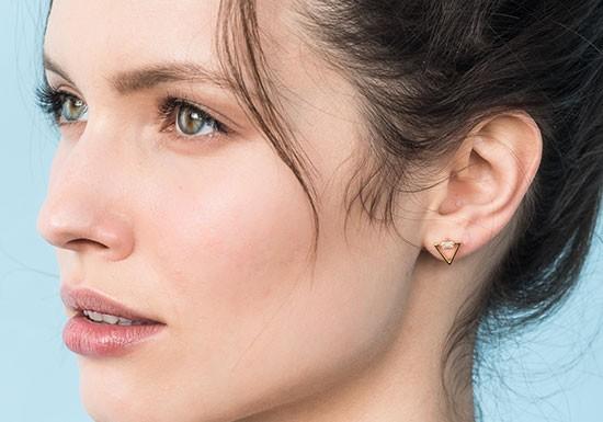 Boucles d'oreilles Delta