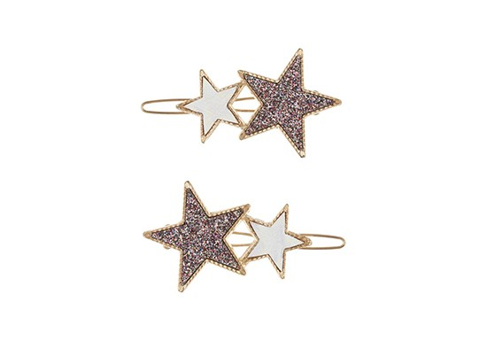 Barrettes Twin star (lot de 2)