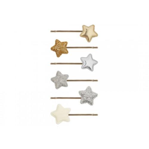 Barrettes étoiles Circus (lot de 6)