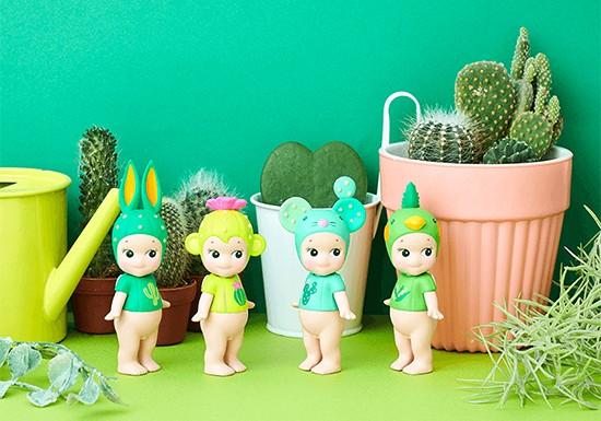 Sonny Angel - Série Cactus