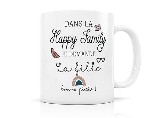 Dans la Happy family, je demande la fille