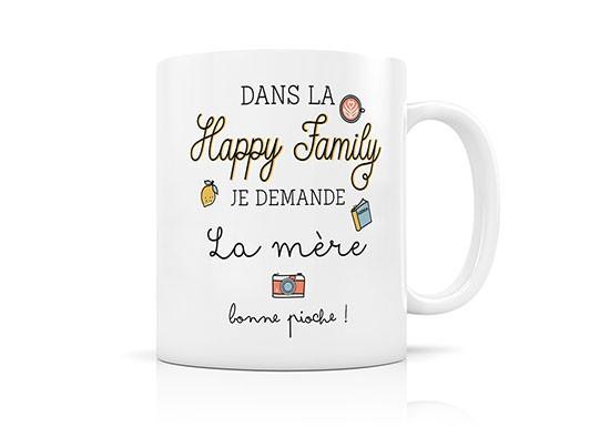 Dans la Happy family, je demande la mère