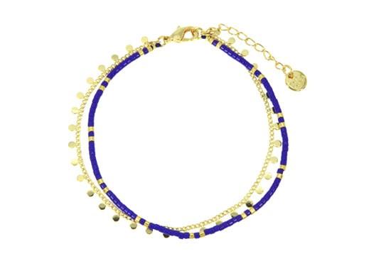 Bracelet Ariane - bleu