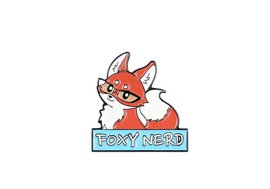 Pin's Foxy Nerd