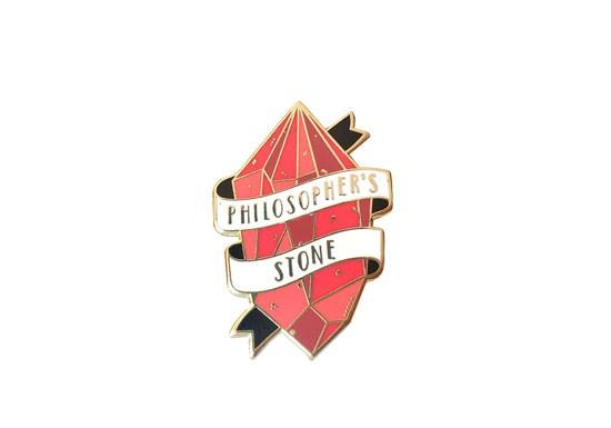 Pin's Pierre philosophale
