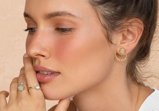 Boucles d'oreilles Miya Jacket (coloris au choix)