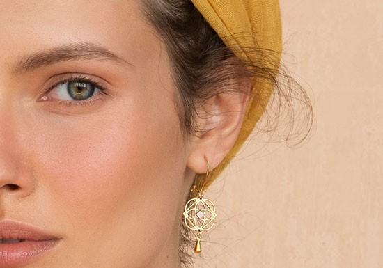 Boucles d'oreilles Marrakesh (coloris au choix)
