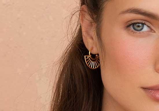 Boucles d'oreilles Oasis Hoop