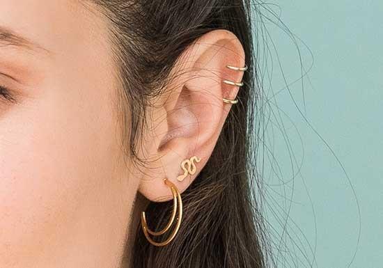 Boucles d'oreilles Snake Tiny