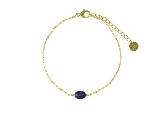 Bracelet chaîne Colette lapis
