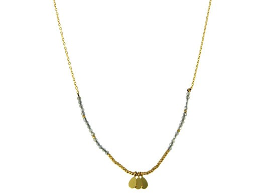 Collier Florence - gris