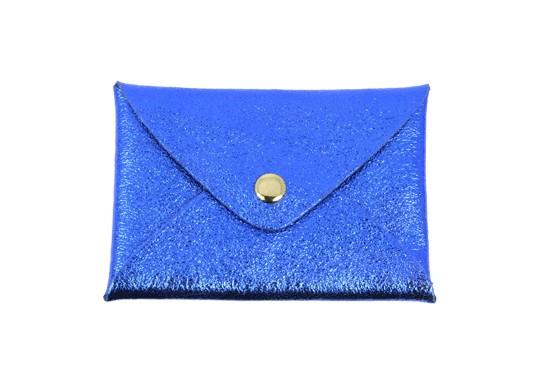 Pochette Cassandre - Bleu électrique