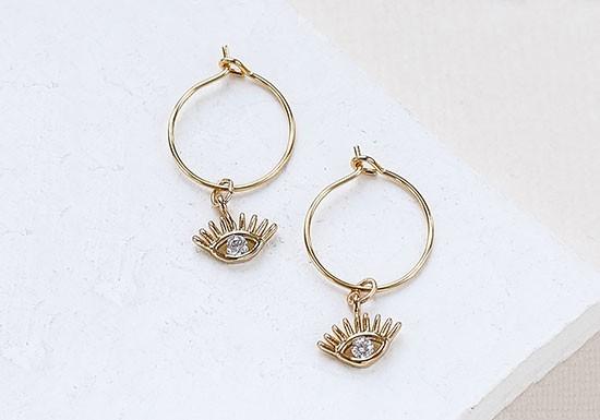 Boucles d'oreilles Nour