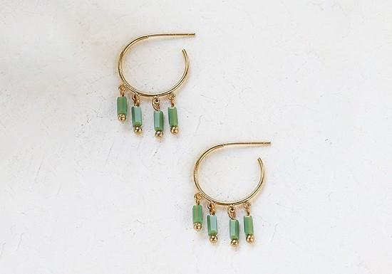 Boucles d'oreilles Rif (coloris au choix)