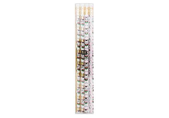 Lot de 4 crayons Jardin Japonais