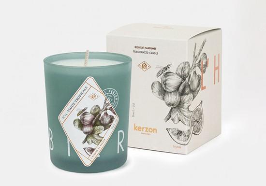 Bougie parfumée - Figue tropicale