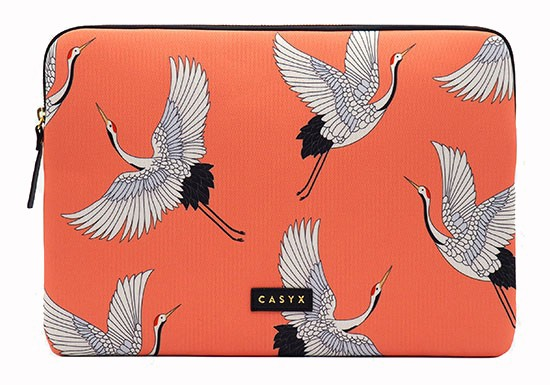 Housse ordinateur Coral Cranes