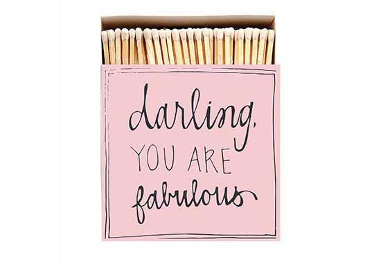 Grande boite d'allumettes - Darling