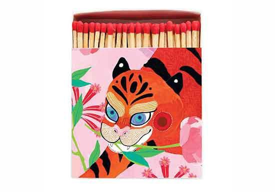 Grande boite d'allumettes - Tiger Peony