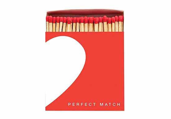 Grande boite d'allumettes - Perfect Match