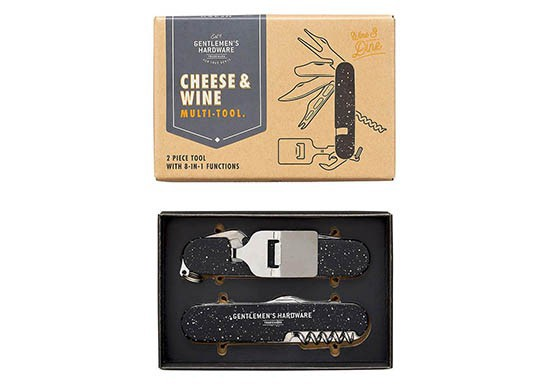 Outil multifonction Cheese and Wine