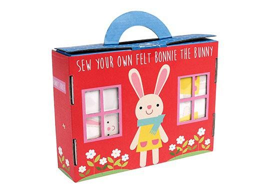 """Kit de feutrine à coudre """"Bonnie the rabbit"""""""