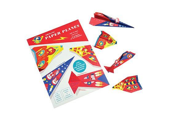 Avions en papier origami